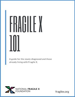 Fragile X 101 Book Cover-1