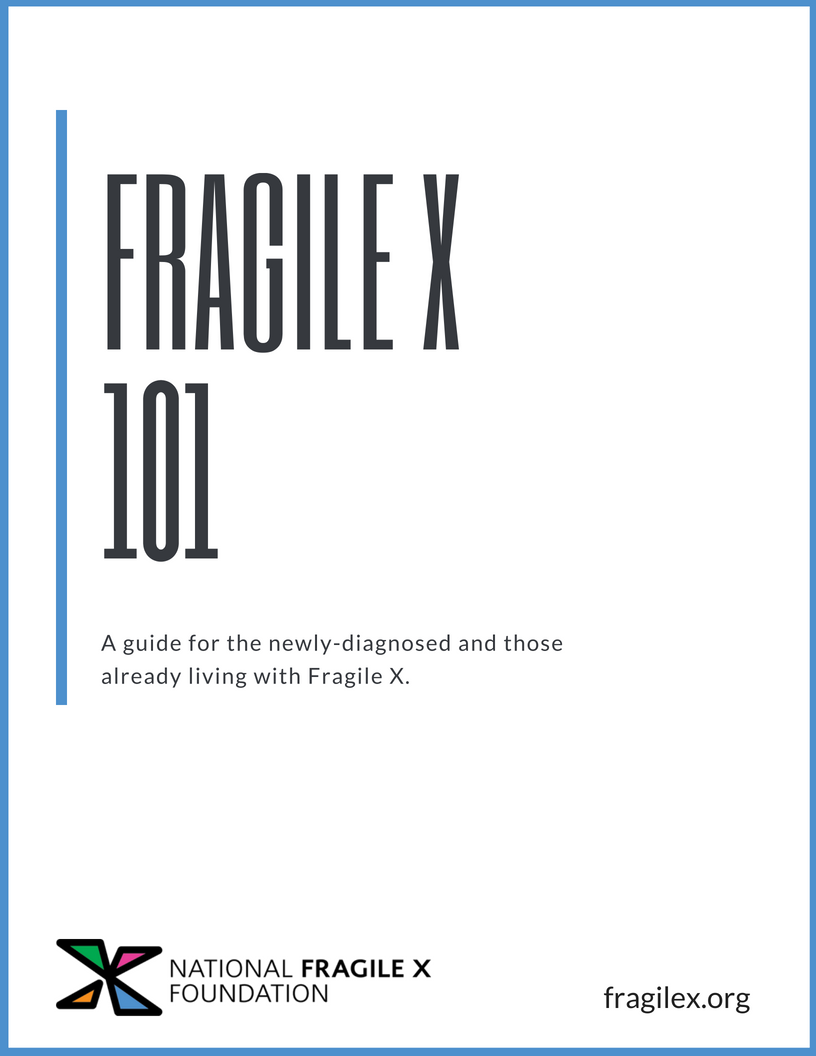 Fragile X 101 Book Cover